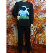 Funderwear jongens pyjama 'Spaceman' zwart