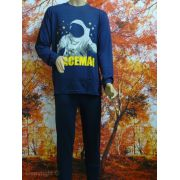 Funderwear jongens pyjama 'Spaceman' marine