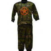 Funderwear jongens pyjama 'Army'