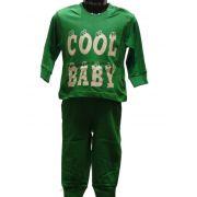 Funderwear jongens pyjama 'Cool baby' groen