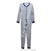 Cocodream kinder onesie 'Hart' blauw