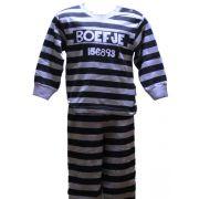 Fun2wear jongens pyjama 'Boefje' marine/grijs