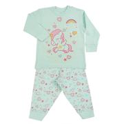 Fun2wear meisjes pyjama 'Eenhoorn' mint