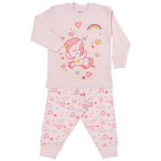 Fun2wear meisjes pyjama 'Eenhoorn' roze
