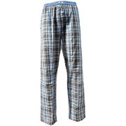 Eskimo heren pyjamabroek poplin 'Scott Black & Brown checks'