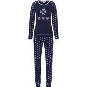 Pastunette dames pyjama 'Nodic style' marine