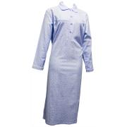 Cocodream dames nachthemd flanel 'Stip'