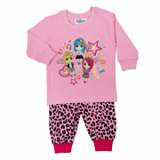 Fun2wear meisjes pyjama 'Amazing girls' prism pink