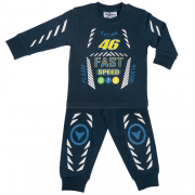 Fun2wear jongens pyjama 'Racing 46' marine