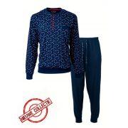 Paul Hopkins heren pyjama 'Driehoek' marine