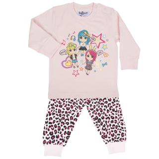 Fun2wear meisjes pyjama 'Amazing girls' cradle pink