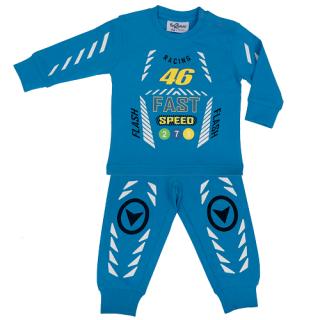 Fun2wear jongens pyjama 'Racing 46' blauw