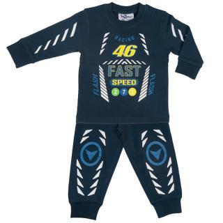 Fun2wear jongens pyjama 'Racing 46' marine