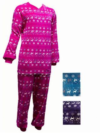 Dames pyjama velours Eland