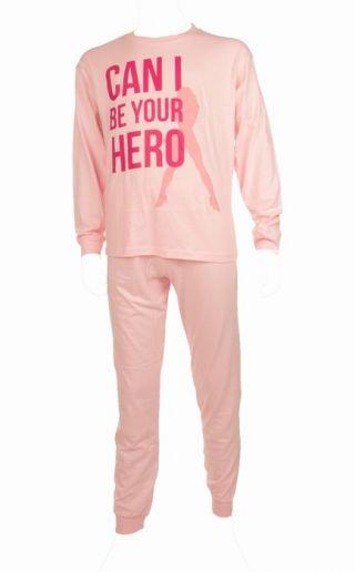 Fun2wear meisjes pyjama 'Hero' roze